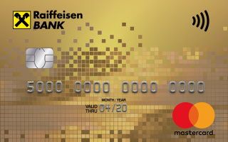 Райффайзенбанк, Gold Mastercard